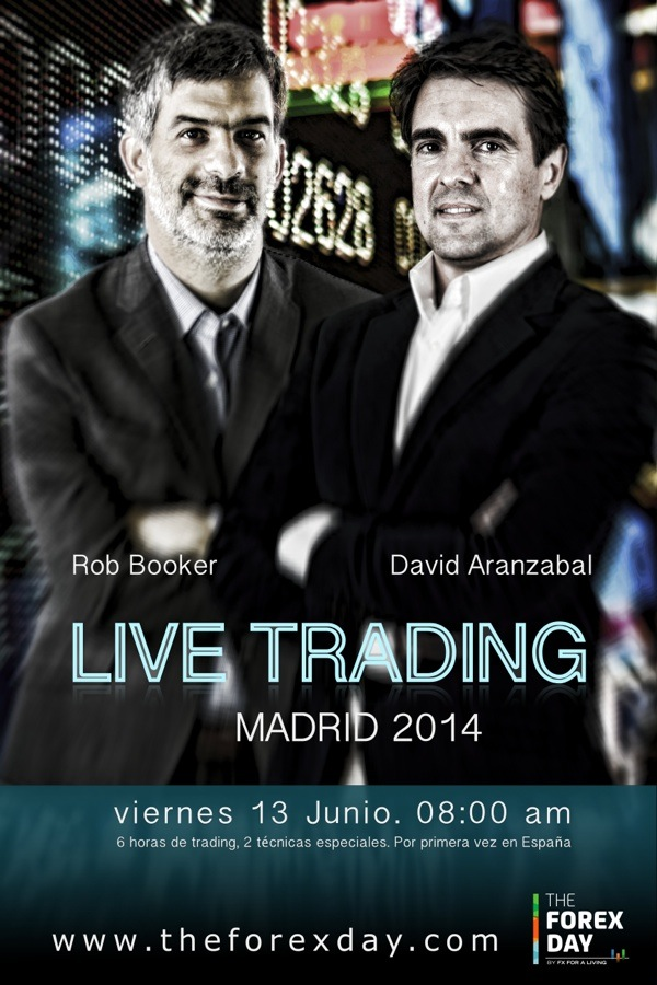 Rob Booker and David Aranzabal Live Trading ES